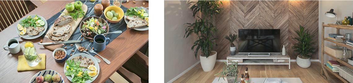 リビングと食卓のイメージ写真