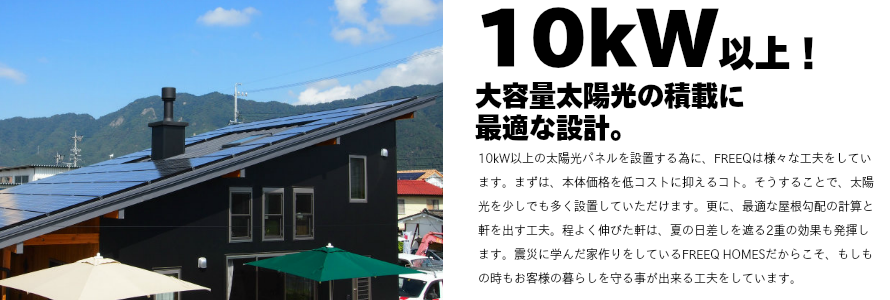 10kW以上の太陽光パネルについての画像