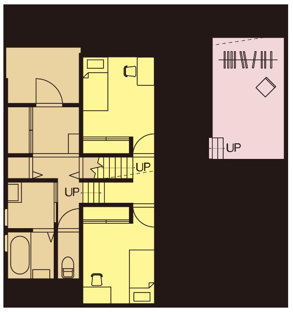 GV25.5D-N-BB1F間取り