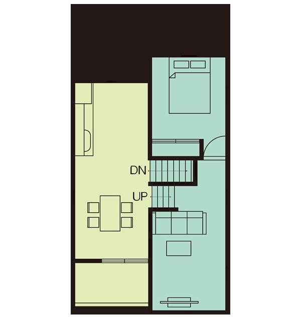 GV25.5D-N-BB2F間取り