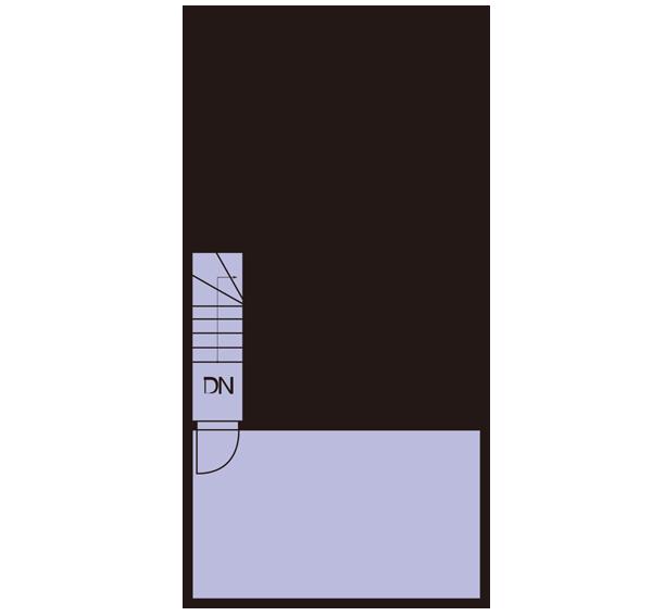 バルコニー平面図