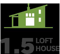 LOFT HOUSE ロフトハウスのイラスト