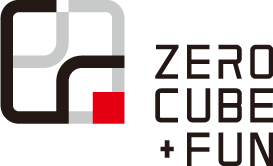 ZERO-CUBE+FUNロゴ
